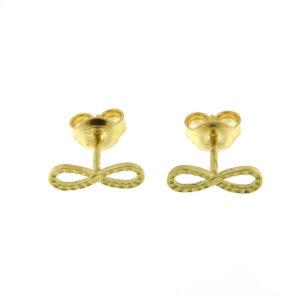 Orecchini infinito oro giallo (E561-OG)