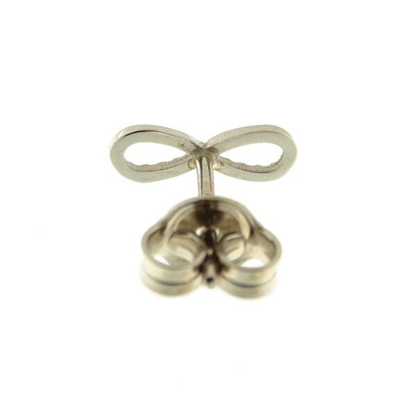 Orecchini infinito oro bianco (E561-OB)