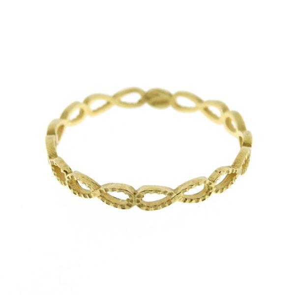 Anello infinito oro giallo (E561-OG)