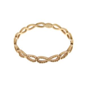 Anello infinito oro rosa (E561-OR)