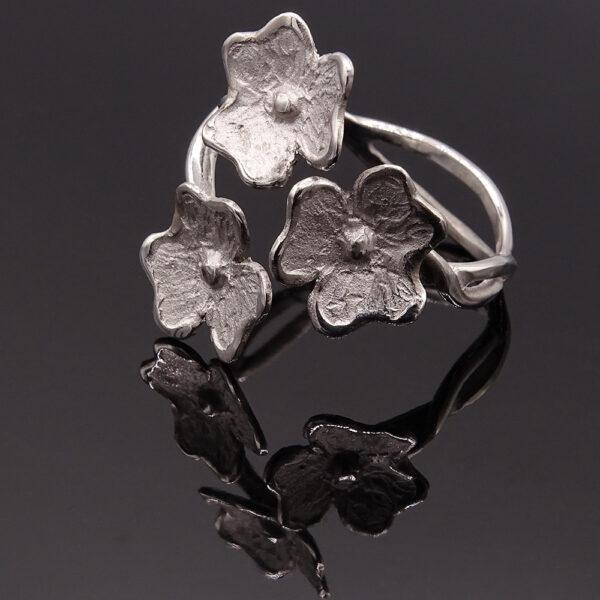 Anello 3 fiori (NA_C435-3_An)