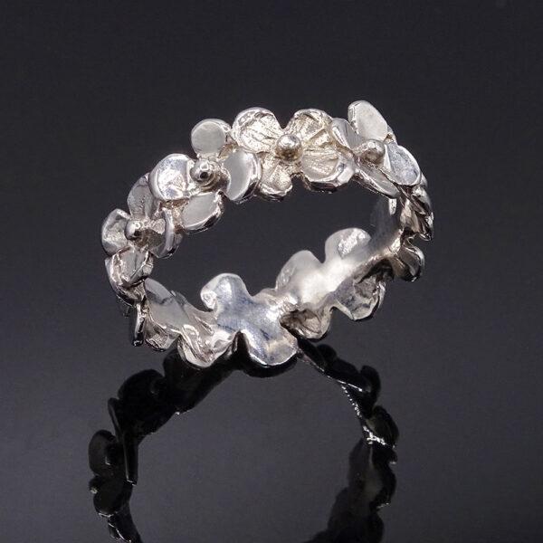Girodito floreale argento (NA_D627.a_An)